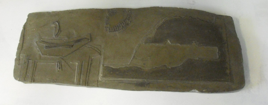 schets in cement  350,-