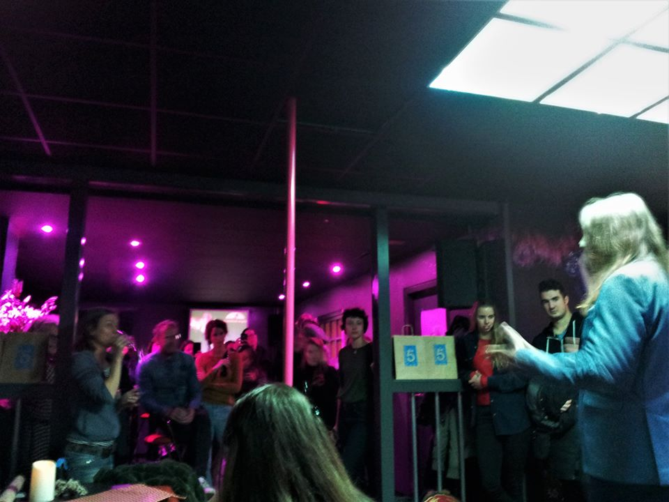 Opening expositie Nightclub Angels door de Nachtburgemeester